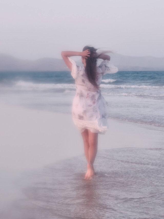 Hamilton Blur an der Playa de Sotavento de Jandia
